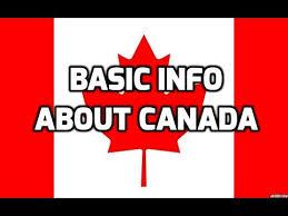 اطلاعات عمومی کانادا